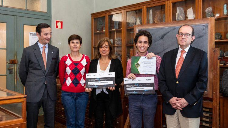 Aluno de Engenharia Biológica recebe Prémio de Mérito Bondalti/ Fundação Amélia de Melo