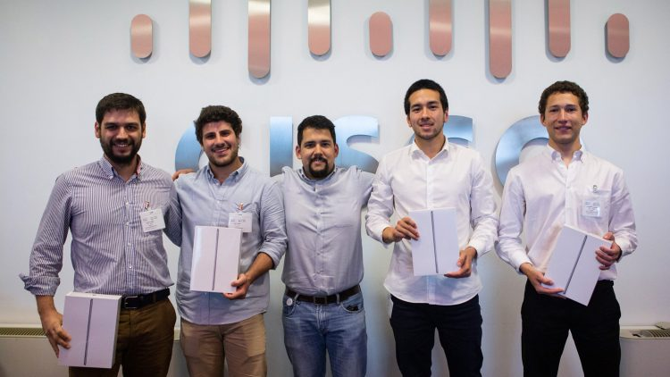 Equipa do Técnico vence University Challenge da Cisco