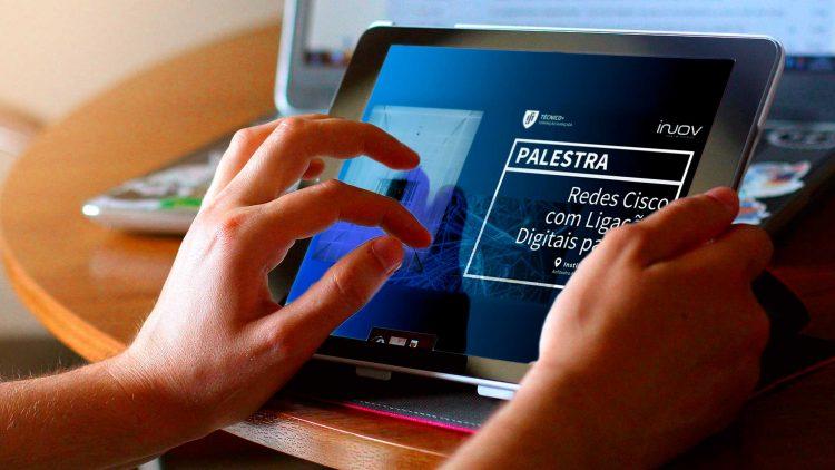 """Palestra """"Redes Cisco com Ligações Digitais para IoT"""""""