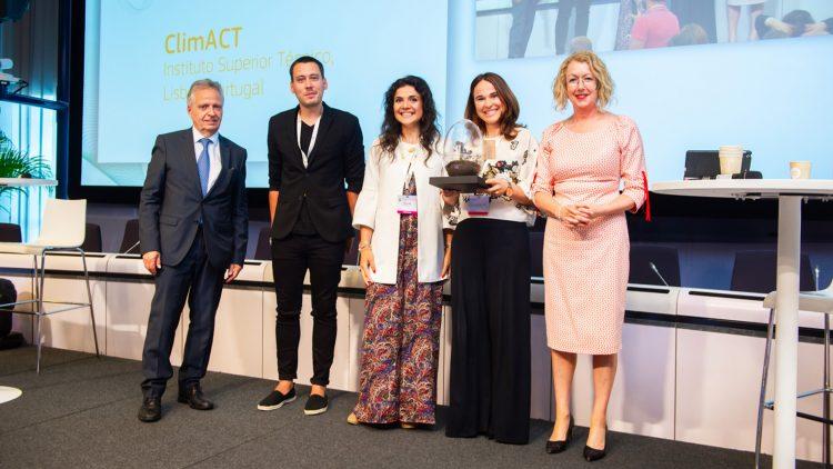 ClimACT distinguido pela Comissão Europeia