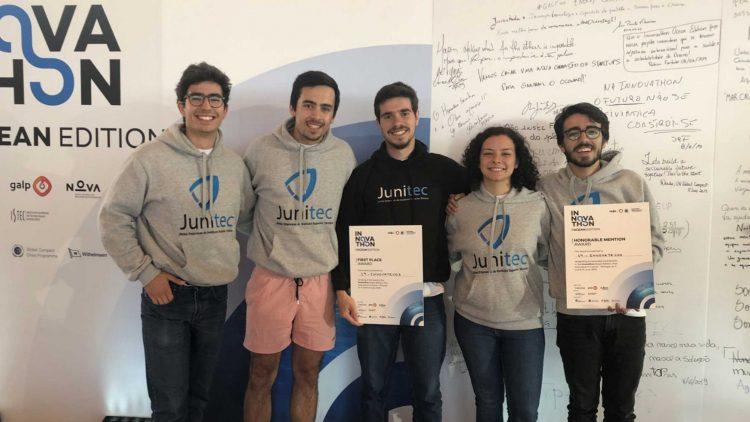 Equipa da JUNITEC conquista 1.º lugar na maratona tecnológica nacional