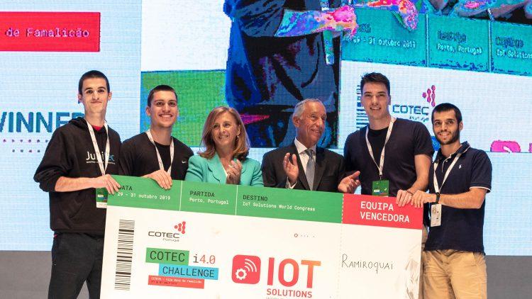 Técnico students win COTEC i4.0 Challenge