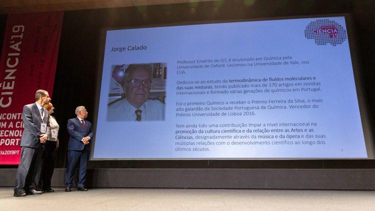 Professor Jorge Calado galardoado com Medalha de Mérito Científico
