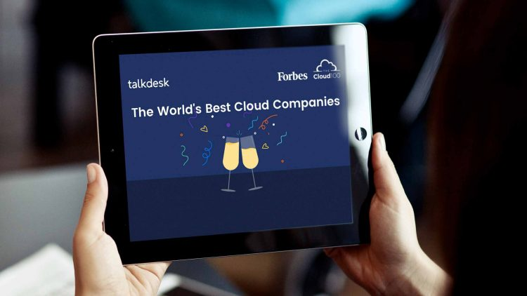 Talkdesk is named to the 2019 Forbes Cloud 100