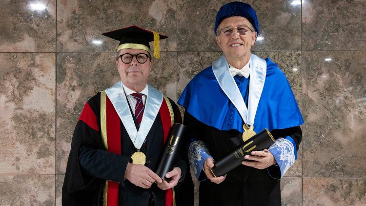 Two notable chemists awarded the title of Doctor Honoris Causa by Universidade de Lisboa