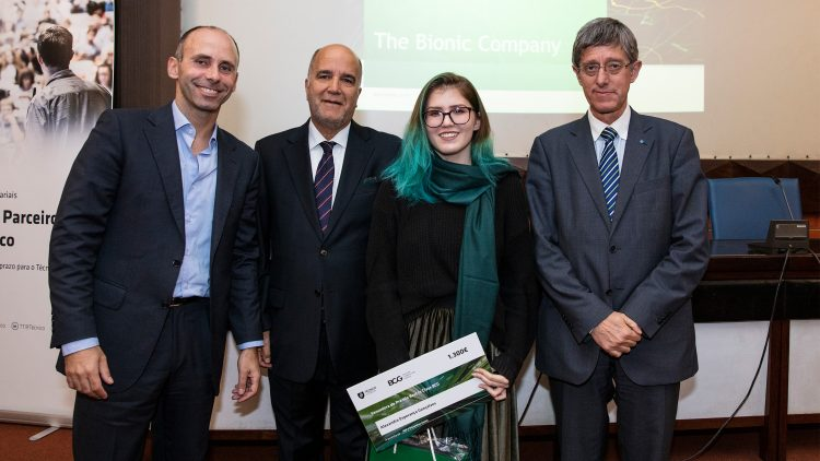 The Boston Consulting Group rewards academic excellence at Técnico
