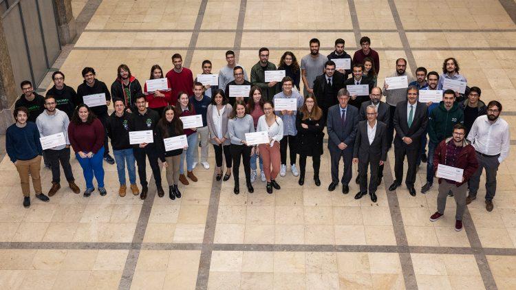 Dezanove projetos dos Núcleos de Estudantes premiados pelo Santander