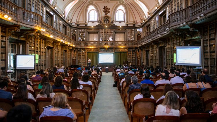 Session at Lisbon Academy of Sciences – Arlindo Oliveira and José Santos-Victor