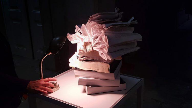 """Exhibition """"Viagem do Livro Molhado"""" – 2020"""