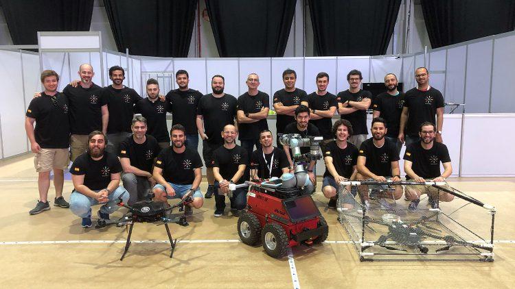 Equipa do Técnico alcança ótimos resultados no MBZIRC 2020