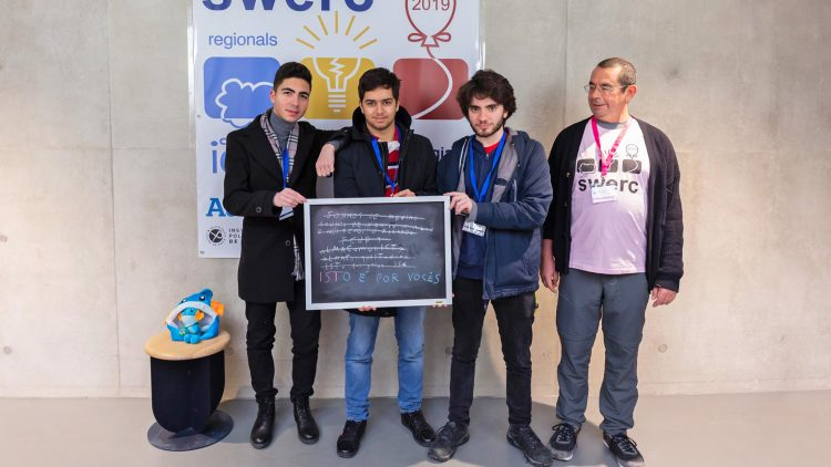 Técnico team wins bronze medal in international competition