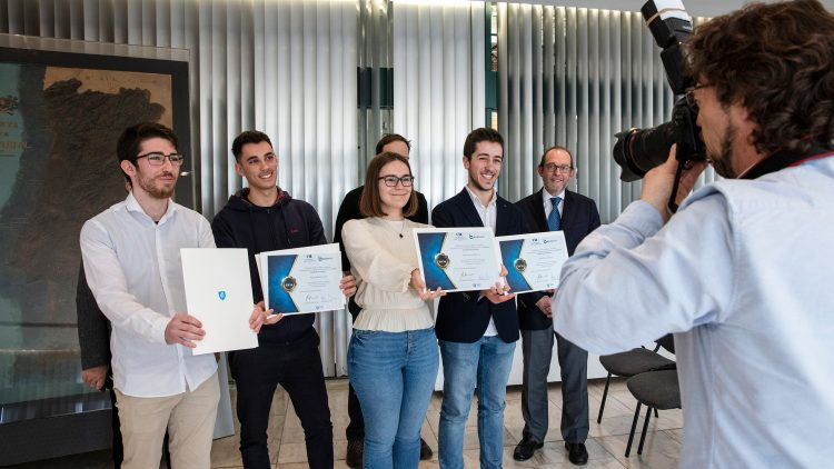 Amélia de Mello Foundation and Bondalti deliver scholarships to four Técnico students