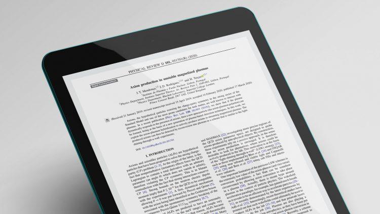 Artigo de investigadores do Técnico em destaque na Physical Review D