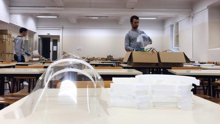 RapidTool e TJ Moldes aliam-se ao Técnico na produção das viseiras de proteção individual