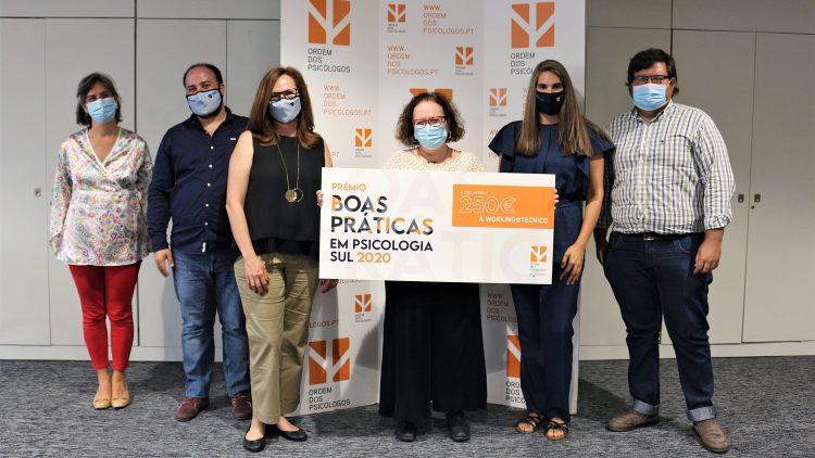 Working@Tecnico vence Prémio de Boas Práticas da Ordem dos Psicólogos Portugueses
