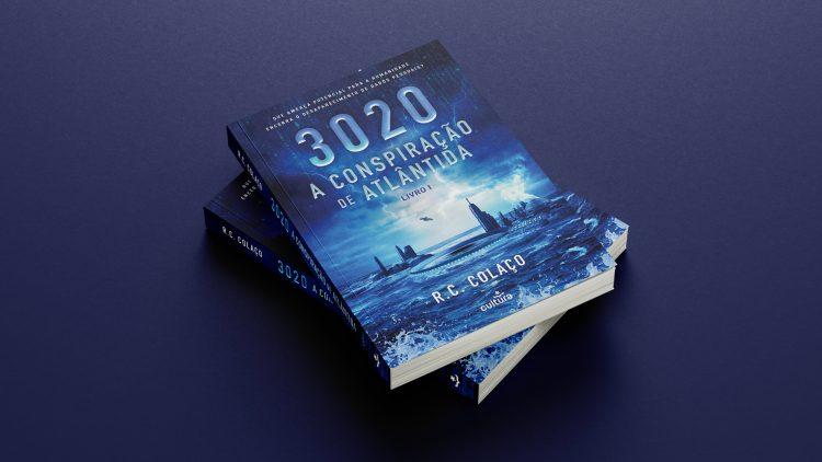 """Apresentação do livro """"A Conspiração de Atlântida"""" – R. C. Colaço"""