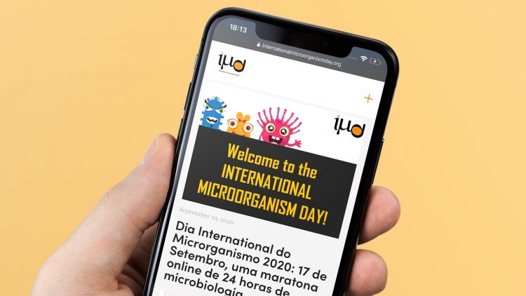 International Microorganism Day 2020: a 24-hour online Microbiology marathon