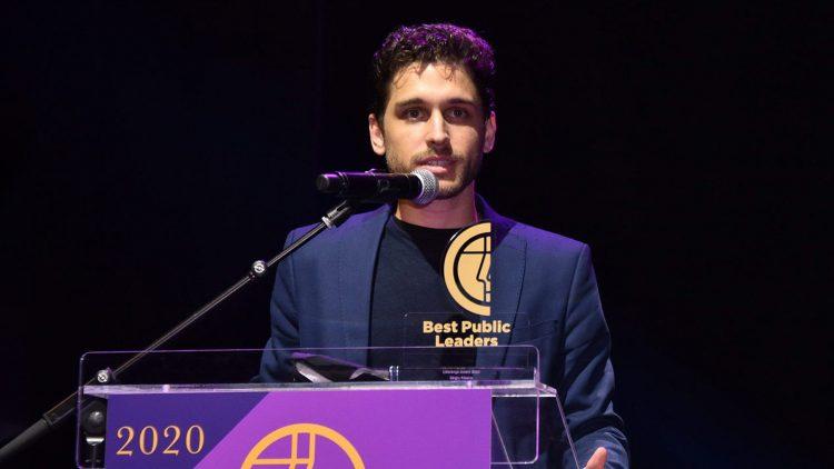"""Antigo aluno do Técnico recebe Prémio """"Best Public Leaders – Liderança Jovem"""""""