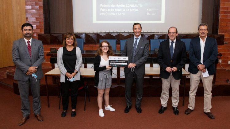 Estudante de Engenharia Química galardoada com o Prémio de Mérito Bondalti /Fundação Amélia de Mello